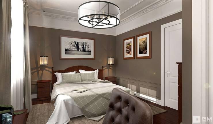 Интерьер дома в колониальном стиле : Спальни в . Автор – GM-interior