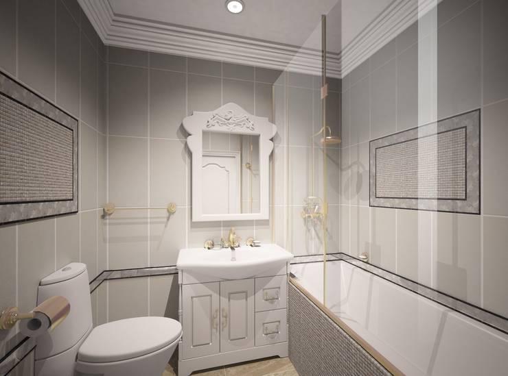 1-но комнатная квартира 61.15m²: Ванные комнаты в . Автор – PLANiUM