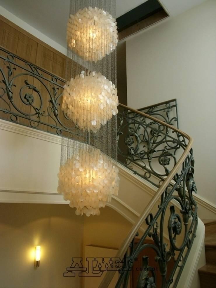 Balustrada – wzór B303: styl , w kategorii Korytarz, hol i schody zaprojektowany przez ALMET Kowalstwo Artystyczne,