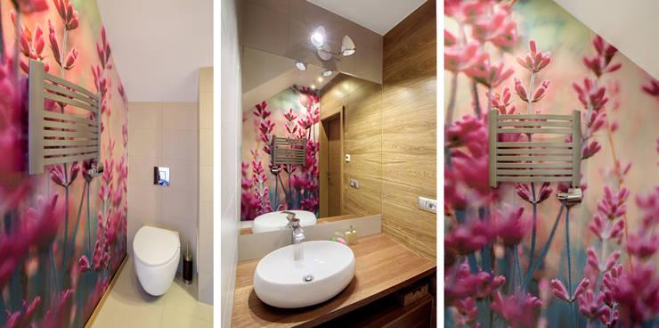 Baños de estilo moderno por PR Architects Sp z o. o. Pala&Rodek