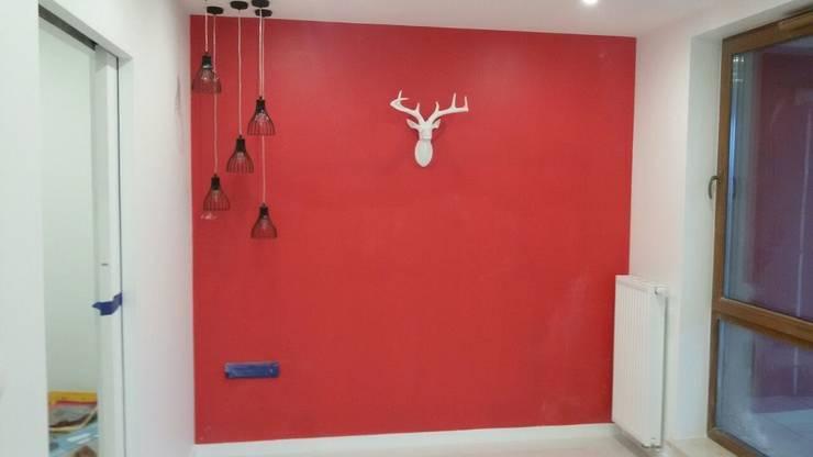 Apartament prywatny – Kielce.: styl , w kategorii Sypialnia zaprojektowany przez PR Architects Sp z o. o. Pala&Rodek