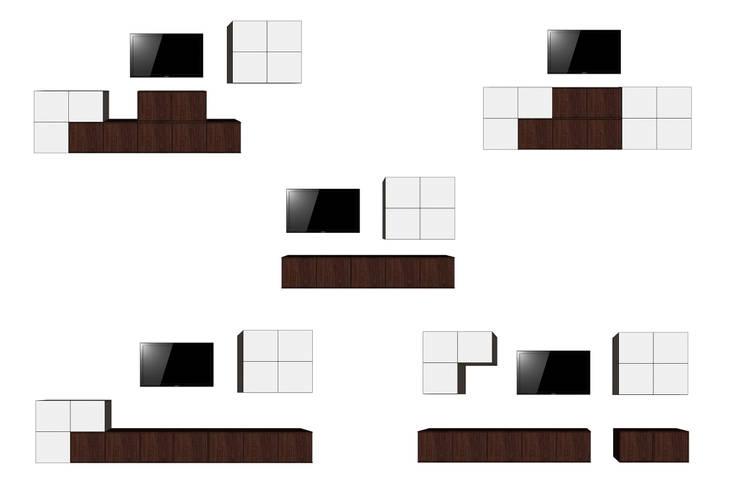 ENTRETETRIS by APOTEMA de APOTEMA Estudio de Diseño Minimalista Tablero DM
