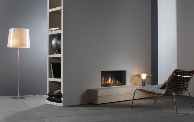 Kominek gazowy Kwline Relaxed M: styl , w kategorii  zaprojektowany przez TAPIS.PL,Nowoczesny