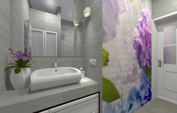 Mieszkanie prywatne – Bytom.: styl , w kategorii Łazienka zaprojektowany przez PR Architects Sp z o. o. Pala&Rodek