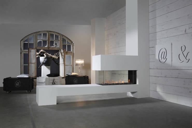 Kominek gazowy Kwline Aspect RD L: styl , w kategorii Salon zaprojektowany przez TAPIS.PL,Nowoczesny