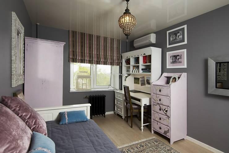 Небольшая московская квартира: Детская комната в . Автор – Irina Tatarnikova
