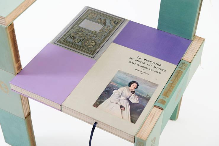 ode aan Steltman:  Woonkamer door BOOKED  by Jacqueline le Bleu
