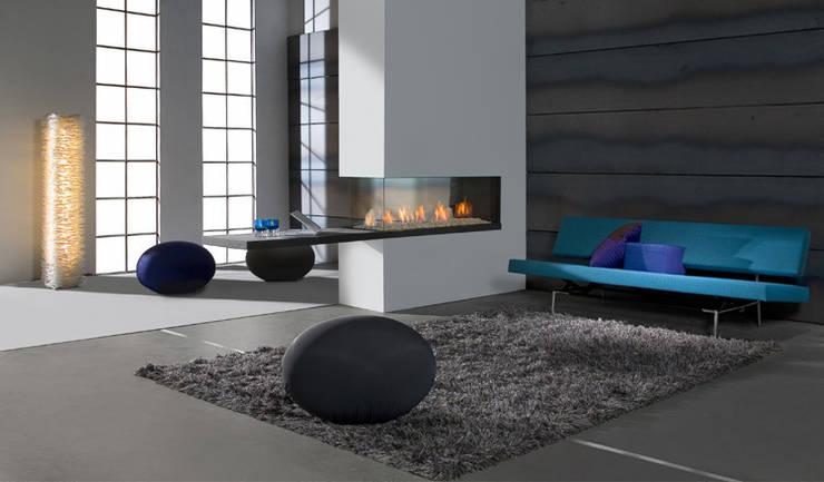 Kominek gazowy Kwline Aspect RD XL: styl , w kategorii  zaprojektowany przez TAPIS.PL,Nowoczesny