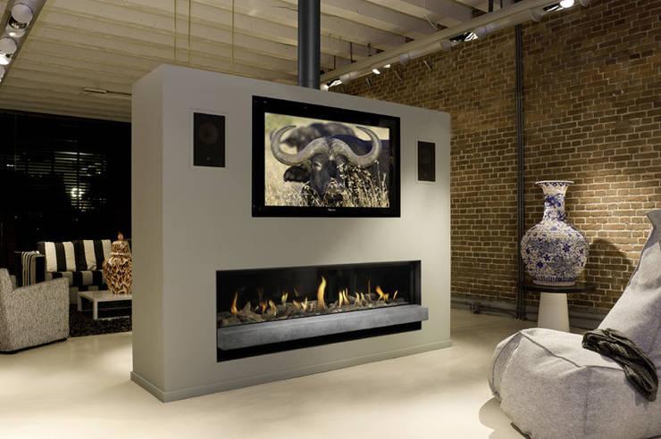 Kominek gazowy Bellfires Horizon XXL 3: styl , w kategorii  zaprojektowany przez TAPIS.PL,Nowoczesny