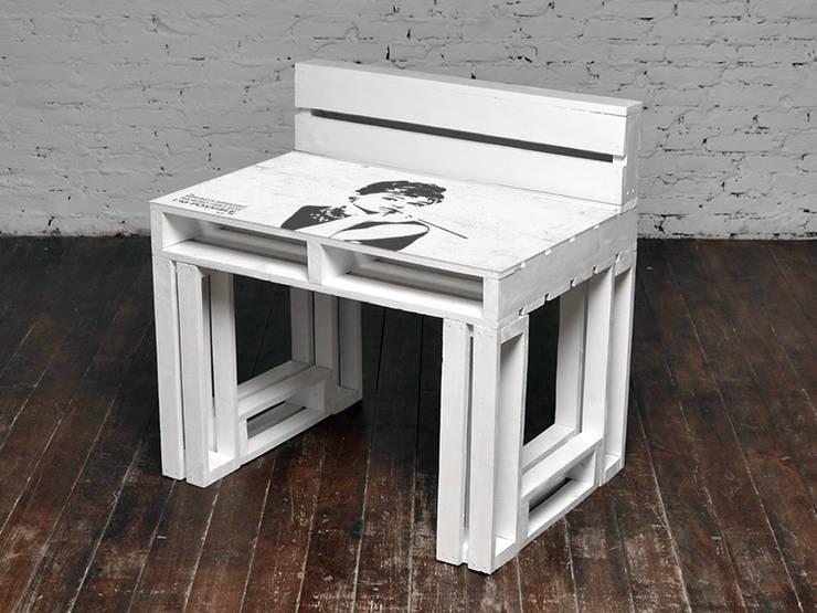 Biurko Audrey/ Audrey Desk 70x100: styl , w kategorii  zaprojektowany przez Tailormade Furniture,Skandynawski