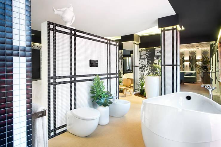 Baños de estilo  por Egue y Seta, Asiático