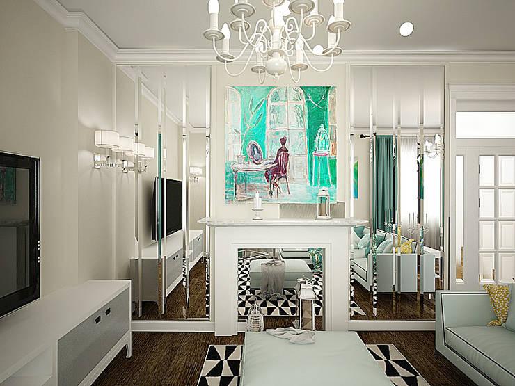 Дизайн-проект 3-й квартиры: Гостиная в . Автор – Лилия Панкова