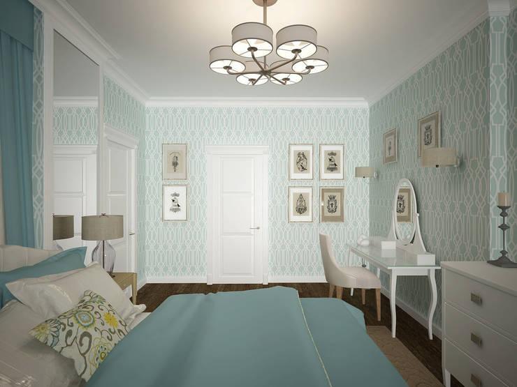 Дизайн-проект 3-й квартиры: Спальни в . Автор – Лилия Панкова