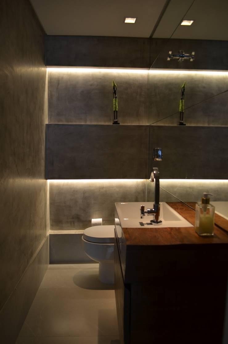 Lavabo: Banheiros  por Compondo Arquitetura,Moderno