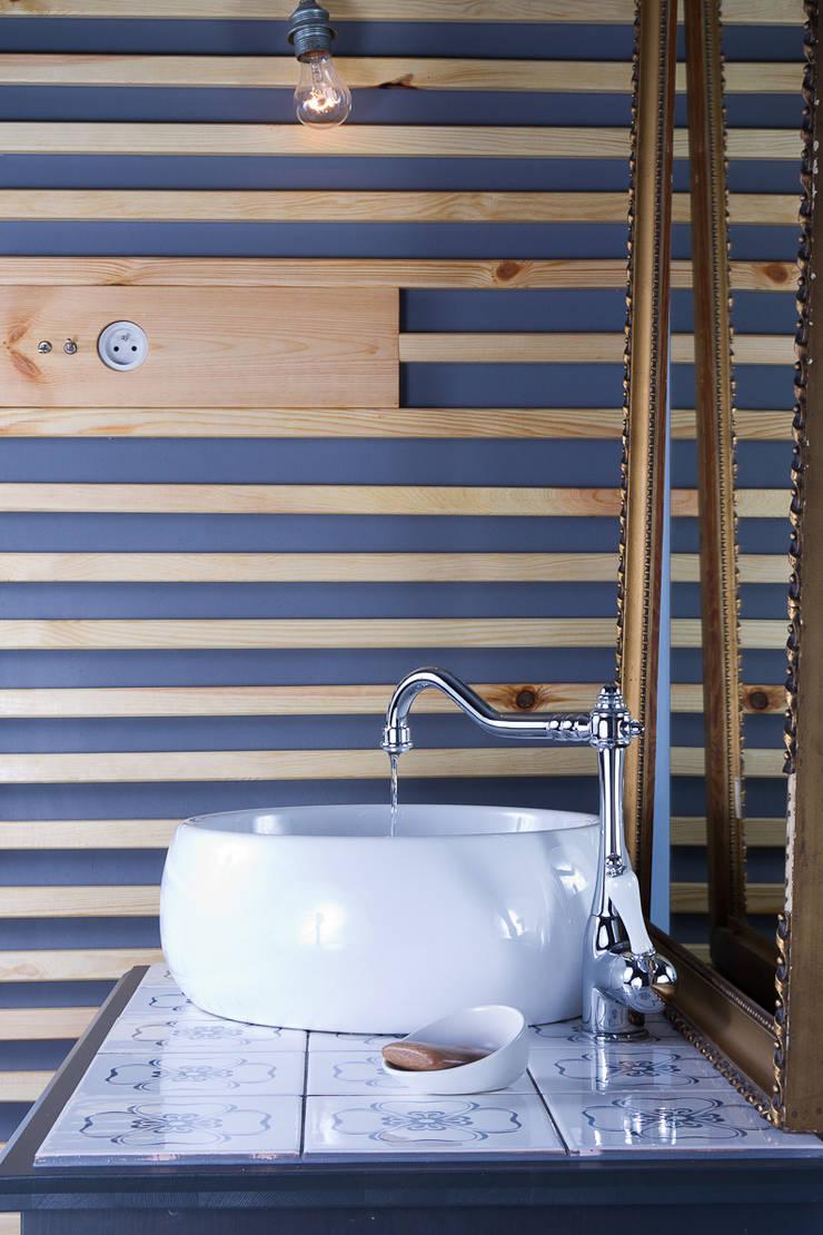 Łazienka Bronowice: styl , w kategorii Kuchnia zaprojektowany przez SPOIWO studio