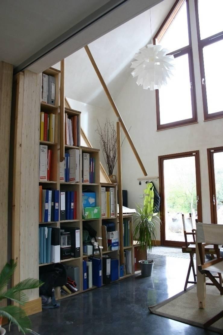Bureau de style  par PKA Architects Ltd, Rustique