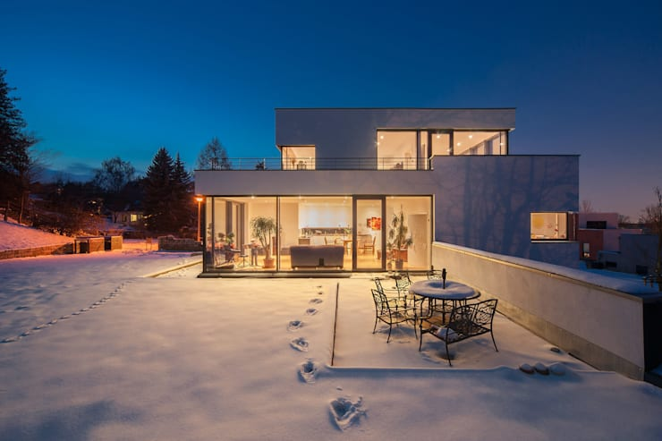 moderne Huizen door Architekturfotografie Steffen Spitzner