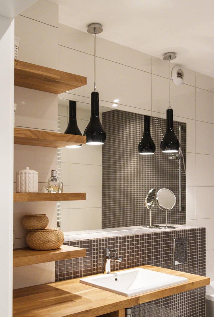 Łazienka Prądnik Biały: styl , w kategorii Łazienka zaprojektowany przez SPOIWO studio