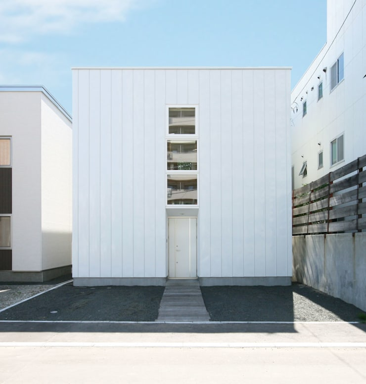 VORTEX CUBE: 畠中 秀幸 × スタジオ・シンフォニカ有限会社が手掛けた家です。,ミニマル