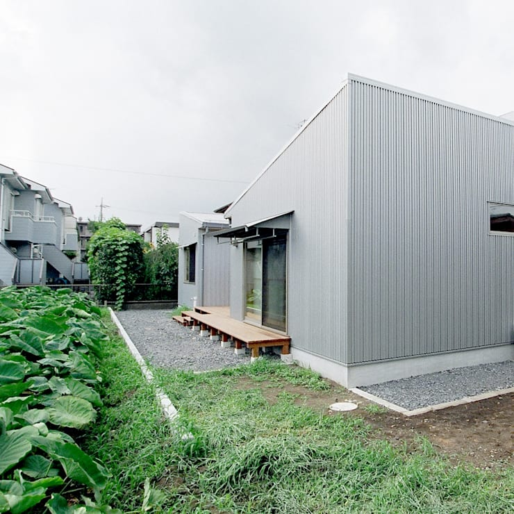 Terrazas de estilo  por M設計工房