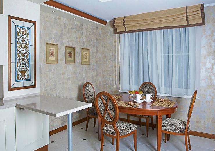 Квартира 210 м.кв.: Кухни в . Автор – Соловьева Мария
