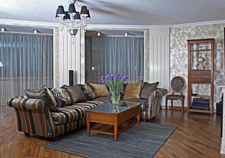 Квартира 210 м.кв.: Гостиная в . Автор – Соловьева Мария