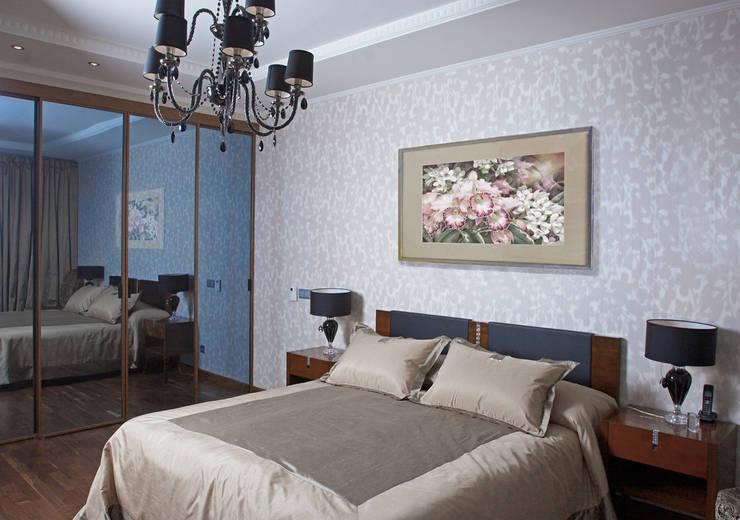 Квартира 210 м.кв.: Спальни в . Автор – Соловьева Мария