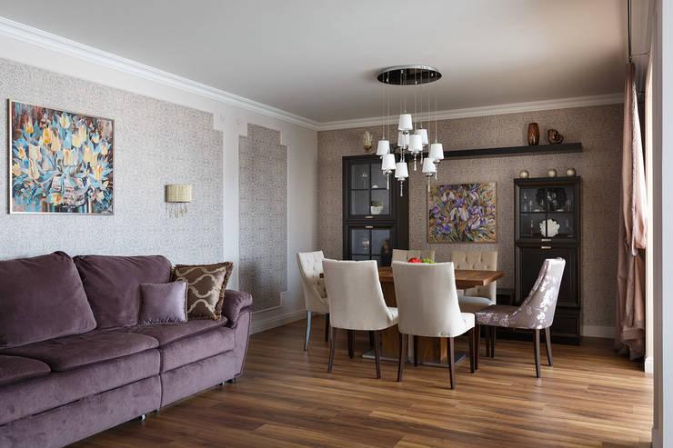 квартира 142 м.кв.: Гостиная в . Автор – Соловьева Мария