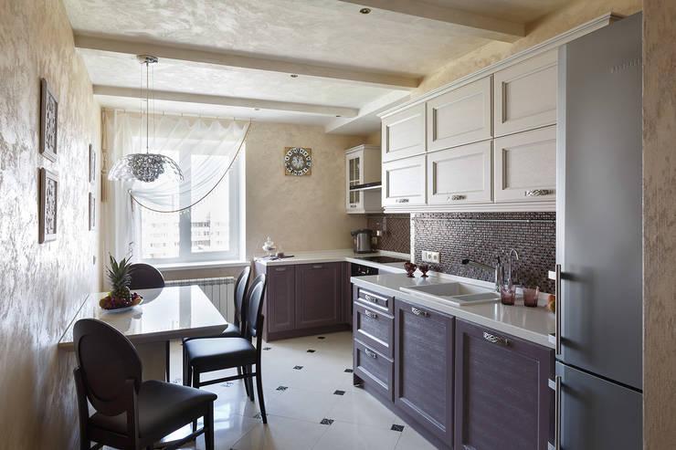 квартира 142 м.кв.: Кухни в . Автор – Соловьева Мария