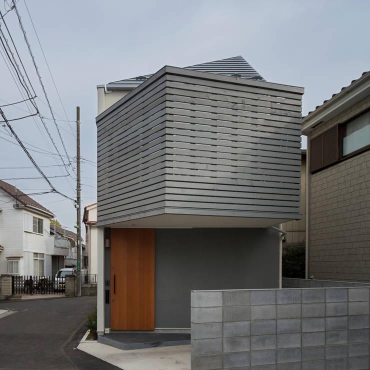 コンパクトで可愛いショートケーキハウス: M設計工房が手掛けた家です。