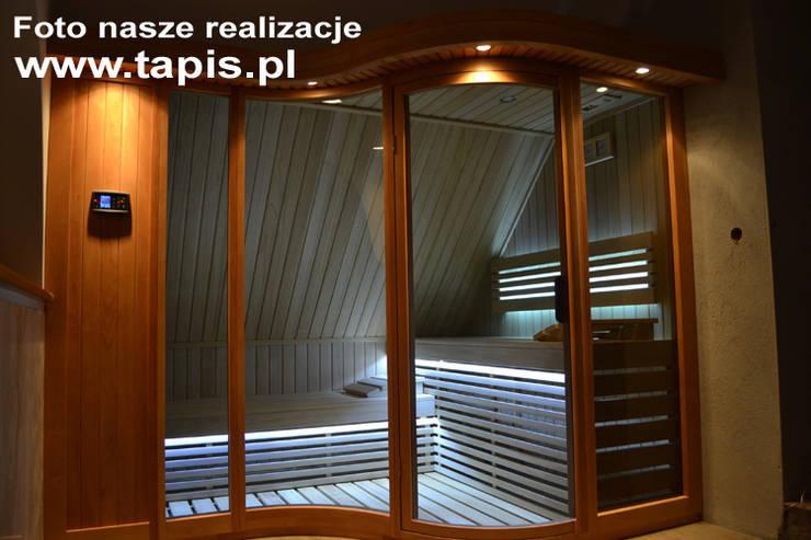Sauna Kornelia Exclusive: styl , w kategorii Spa zaprojektowany przez TAPIS.PL,Nowoczesny
