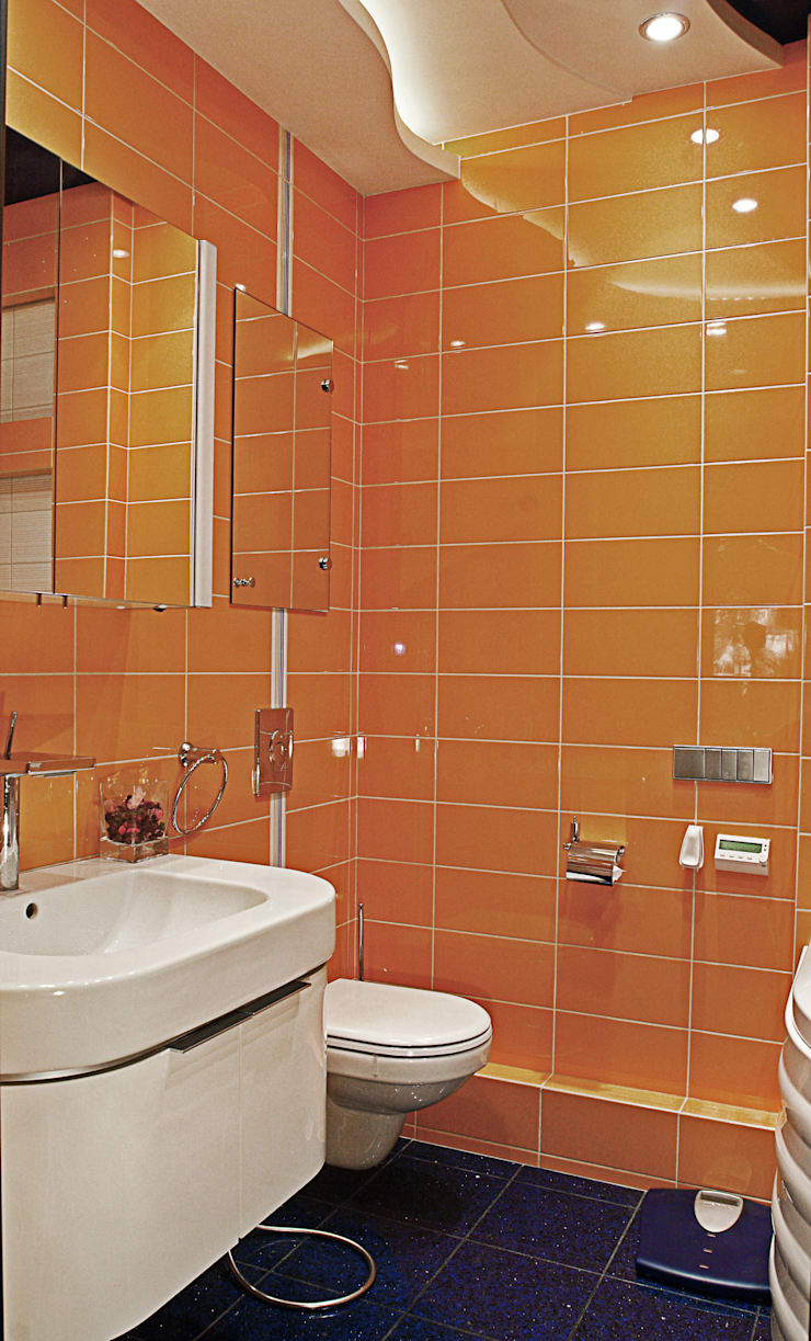квартира 96 м.кв.: Ванные комнаты в . Автор – Соловьева Мария