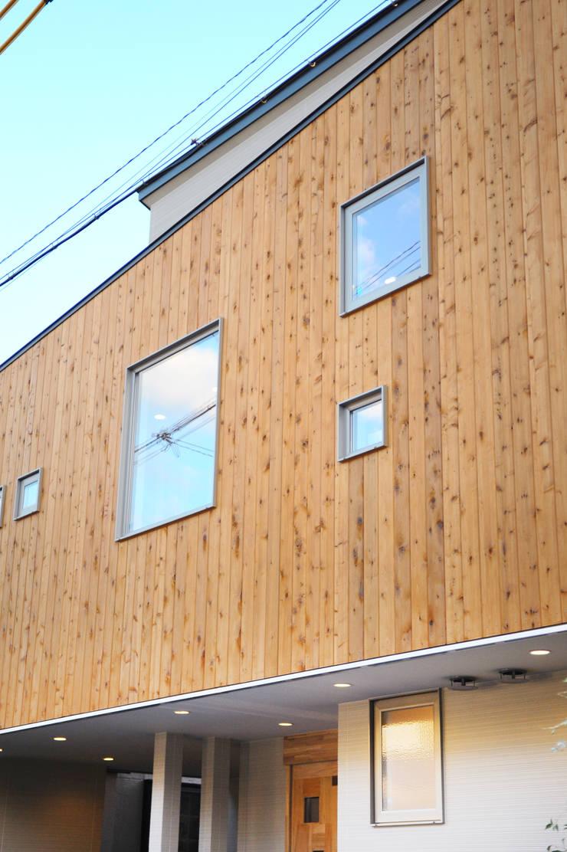 外観 北欧風 家 の 建築設計事務所RENGE 北欧