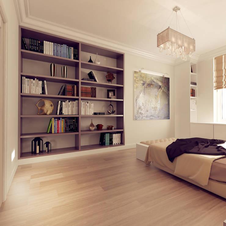 Classic style bedroom by ООО 'Студио-ТА' Classic