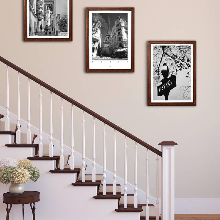 Murs & Sols de style  par Posterlounge
