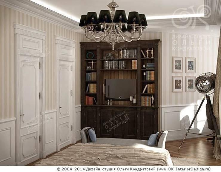 Спальная комната: Спальни в . Автор – Дизайн студия Ольги Кондратовой