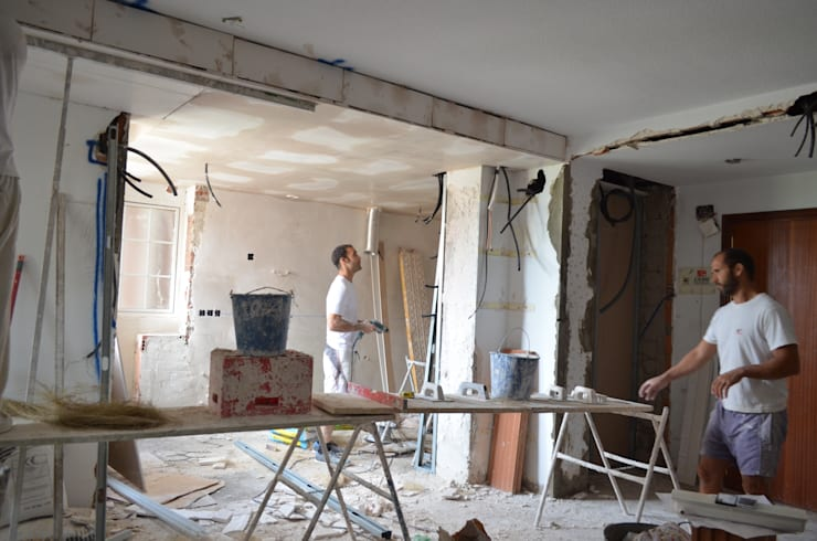 Reforma de un piso en Sevilla Este.:  de estilo  de Cocinel-la, Moderno