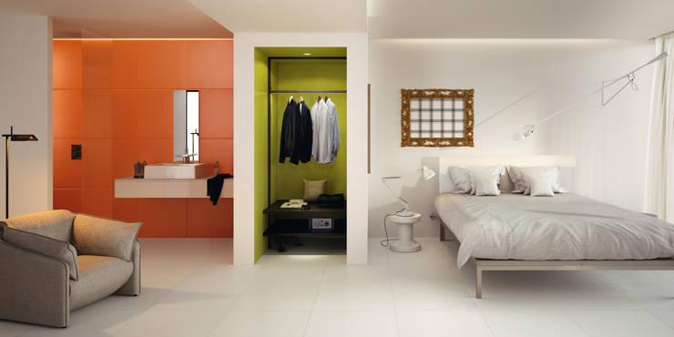 Paredes y pisos de estilo moderno por Ceramica Sant'Agostino
