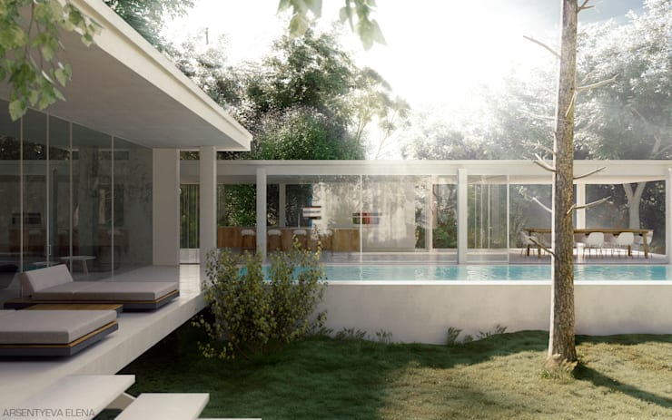 Park_House: Дома в . Автор – Elena Arsentyeva,