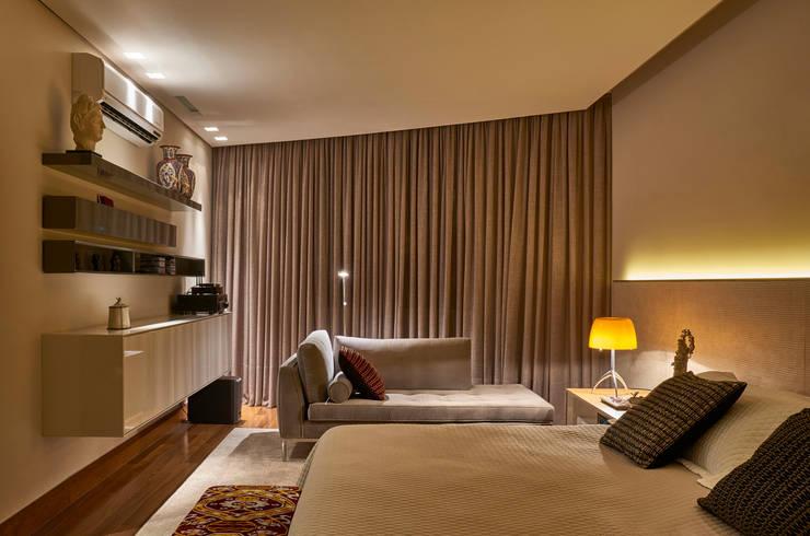 Apartamento AS: Quartos  por Beth Nejm