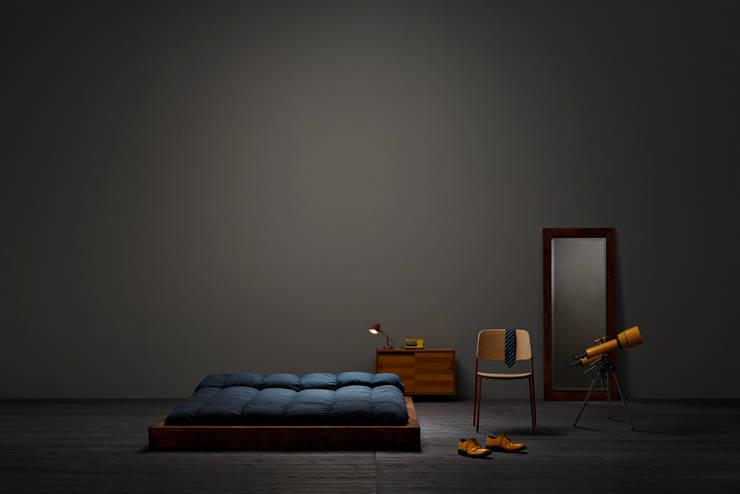 Спальная комната  в . Автор – Caksdhb
