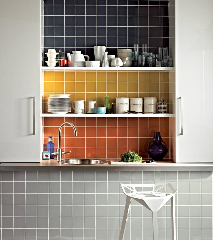 The London Tile Co.が手掛けた壁&床