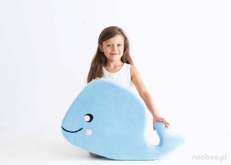 Poducha WIELORYB: styl , w kategorii Pokój dziecięcy zaprojektowany przez NOOBOO