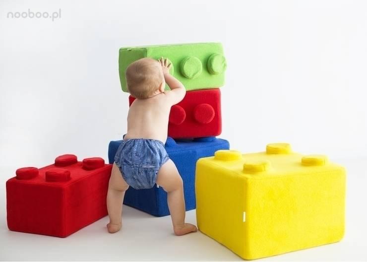Poduchy LEGO: styl , w kategorii Pokój dziecięcy zaprojektowany przez NOOBOO,