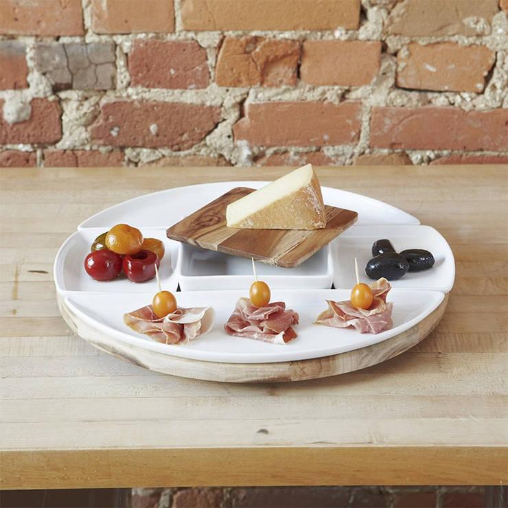 Набор из 5 блюд и подноса для сервировки Spun: Кухня в . Автор – Enjoyme