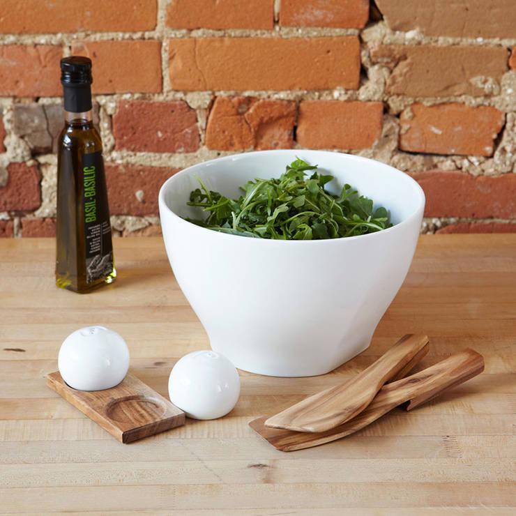Миска для салата с приборами Savore: Кухня в . Автор – Enjoyme