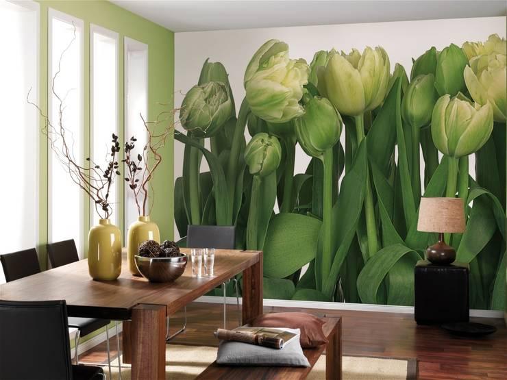 Fototapete Tulips:  Wände & Boden von fototapete.de