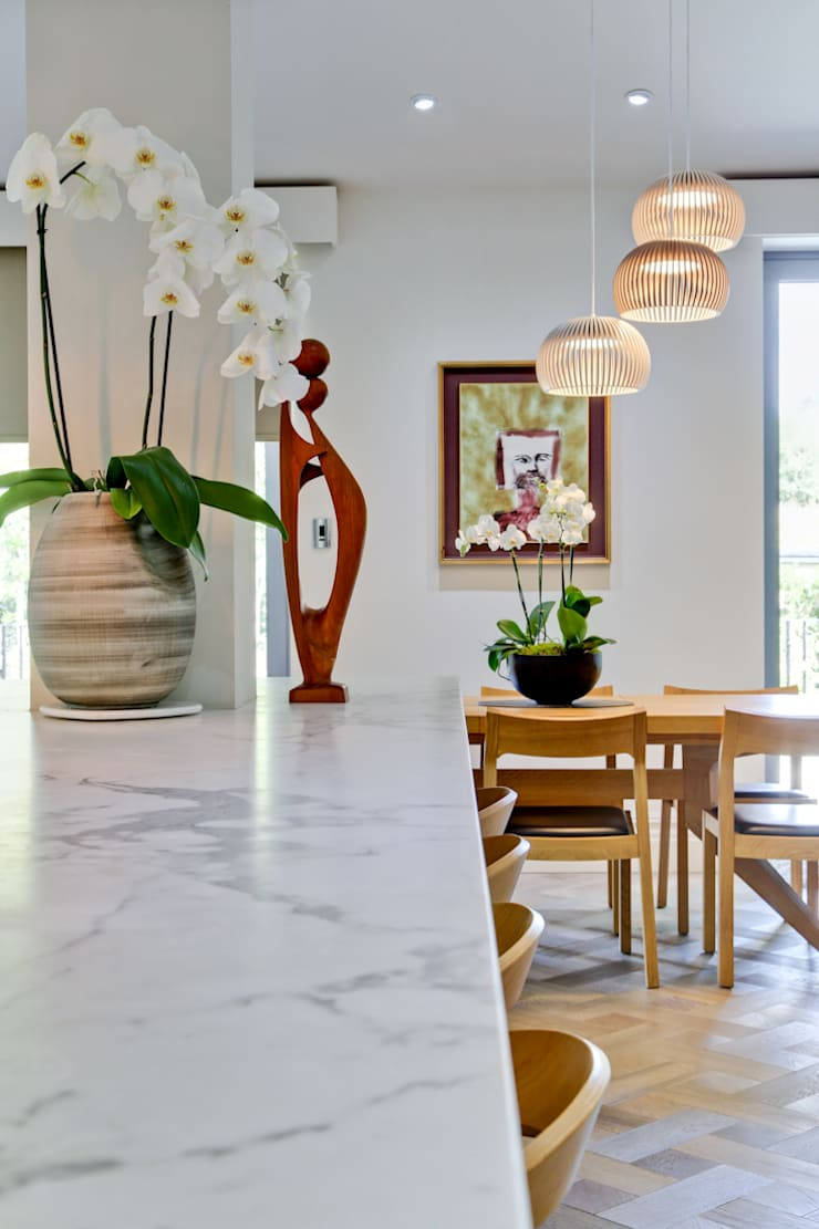 Style and Substance Modern dining room by Studio Hopwood Modern