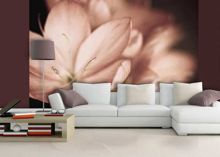 ARTMODEL – Çiçekler temalı poster duvar kağıtları (DVC-09):  tarz Duvar & Zemin