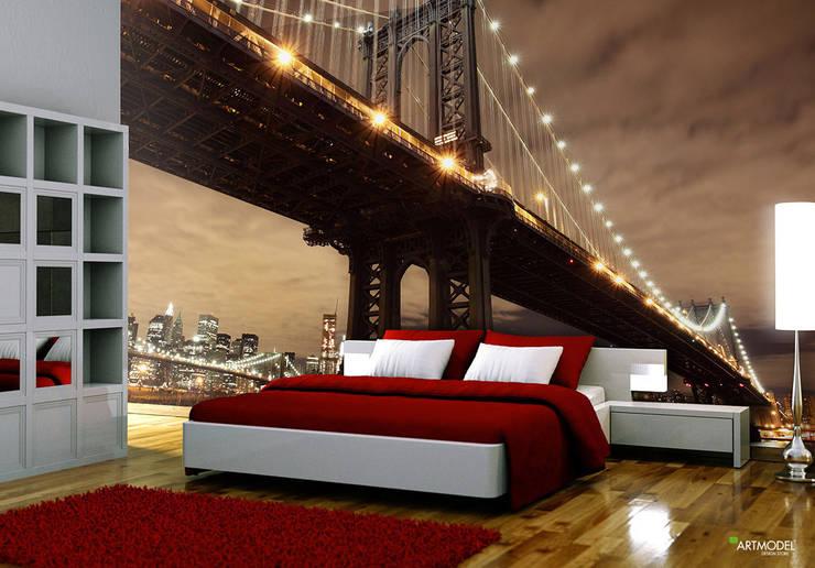 ARTMODEL – Brooklyn Köprüsü -  Duvar Kağıtları (PD-01):  tarz Duvar & Zemin